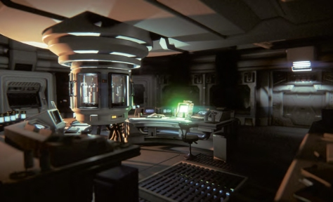 Alien: Isolation has beautiful visuals.