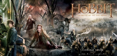 Hobbit Five Armies Banner
